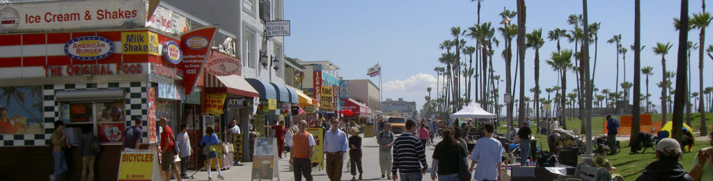 Venice Beach, California. Image in the Public Domain.